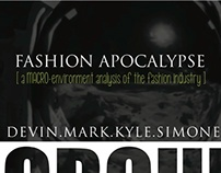 Fashion Apocalypse Marketing Presentation Design