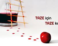 meyve suyu reklamı