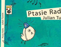 "Illustrations for ""Bird Radio"" by Julian Tuwim"