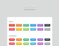 3D Buttons Pack