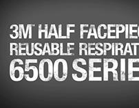 3M 6500 Respirator Mask Video