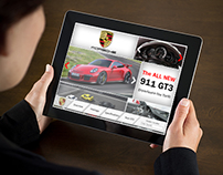 Porsche 911 GT3 iPad Application