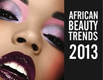 African Beauty Trends Presentation Design