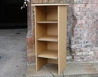 Cardboard Bookcase - Cardboard Man