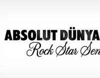 Absolut Dünyasında Rock Star Sensin