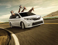 Toyota Sienna Campaign