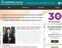 Emperor's College 30th anniversary site