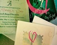 angel auction 2013 invite & program