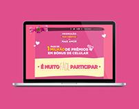 Hotsite Mais Créditos Mais Amor / Sonho de Valsa