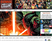 Website - Comic Cellar UI_Responsive