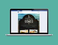 Menu do Gomes aplicativo de receitas / Gomes da Costa