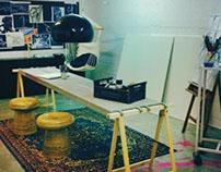 My magic work space