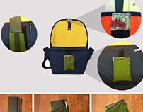 EZ Grab: A Messenger Bag Companion