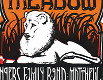 Dead Meadow Tour Poster