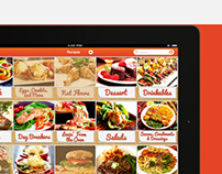 Recipes ipad App