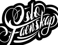 Oslo Faenskap Typography