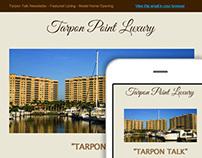 Responsive Email Design Tarpon Point Luxury Newsletter