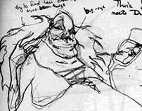 Vanity character sketch
