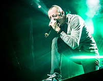 Linkin Park Concert Photography