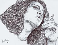 Ilustrações | Caneta bic