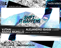 SHIFT IT HAPPENS - Live Performance