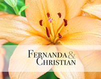 Matrimonio Fernanda & Christian.