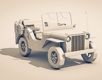 Transportation - Low Poly