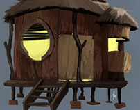 Frog Outpost concept
