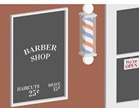 Barber Shop {Isometric}