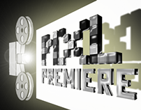 Pixl Premiere logo design