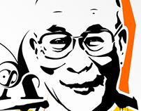 """Dalai Lama """"Peace"""""""