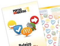 Criação linguagem visual - Visitas Guiadas McDonald's
