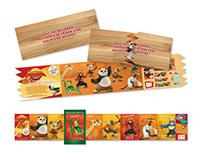 Broadside e Cartaz Kung Fu Panda McLanche Feliz
