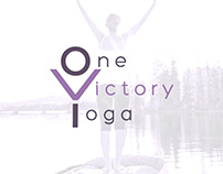One Victory Yoga. Logo.