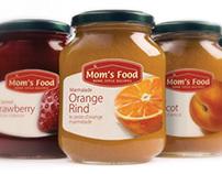 Mom's Food Jam | Packaging