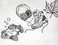 Promotional Illustrations - University of Victoria