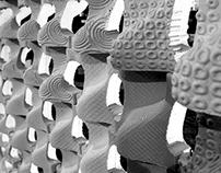 Digital fabrication: CNC milling machine. The wall