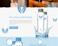 Vero Water Landing Page