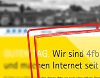 Relaunch Corporate Website www.4fb.de