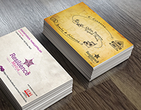 Resilience Media Business Card Design