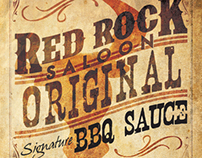 Red Rock Saloon BBQ Sauce