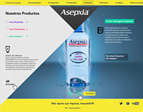 Asepxia Argentina Website