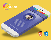 Role - One Page Portfolio HTML5 Template