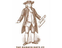 Quaker Oats Brandmark Illustrated by Steven Noble