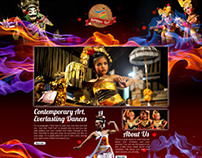 Traditional Dance - Website Template