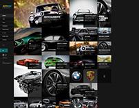auto magazine concept