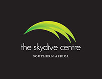 The Skydive Centre South Africa Logo design
