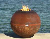The Fireball Sculptural Firebowl