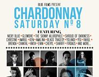 Event Poster Design - Chardonnay Saturday No. 8