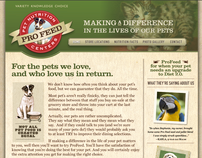 Pro Feed Pet Nutrition Branding